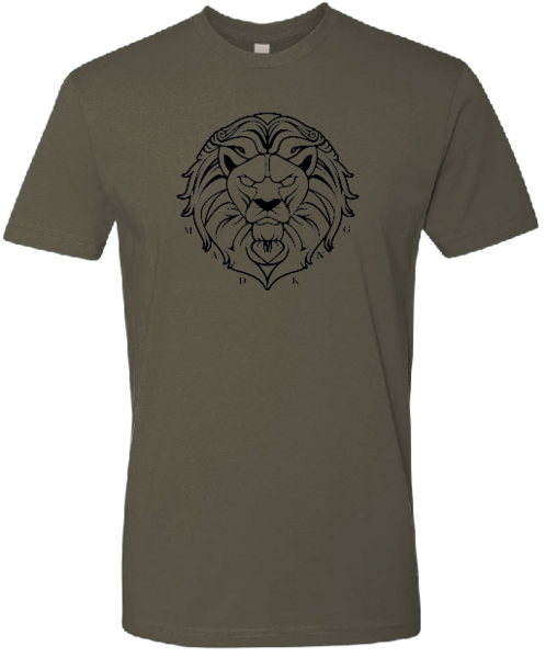 Lion Text Tee