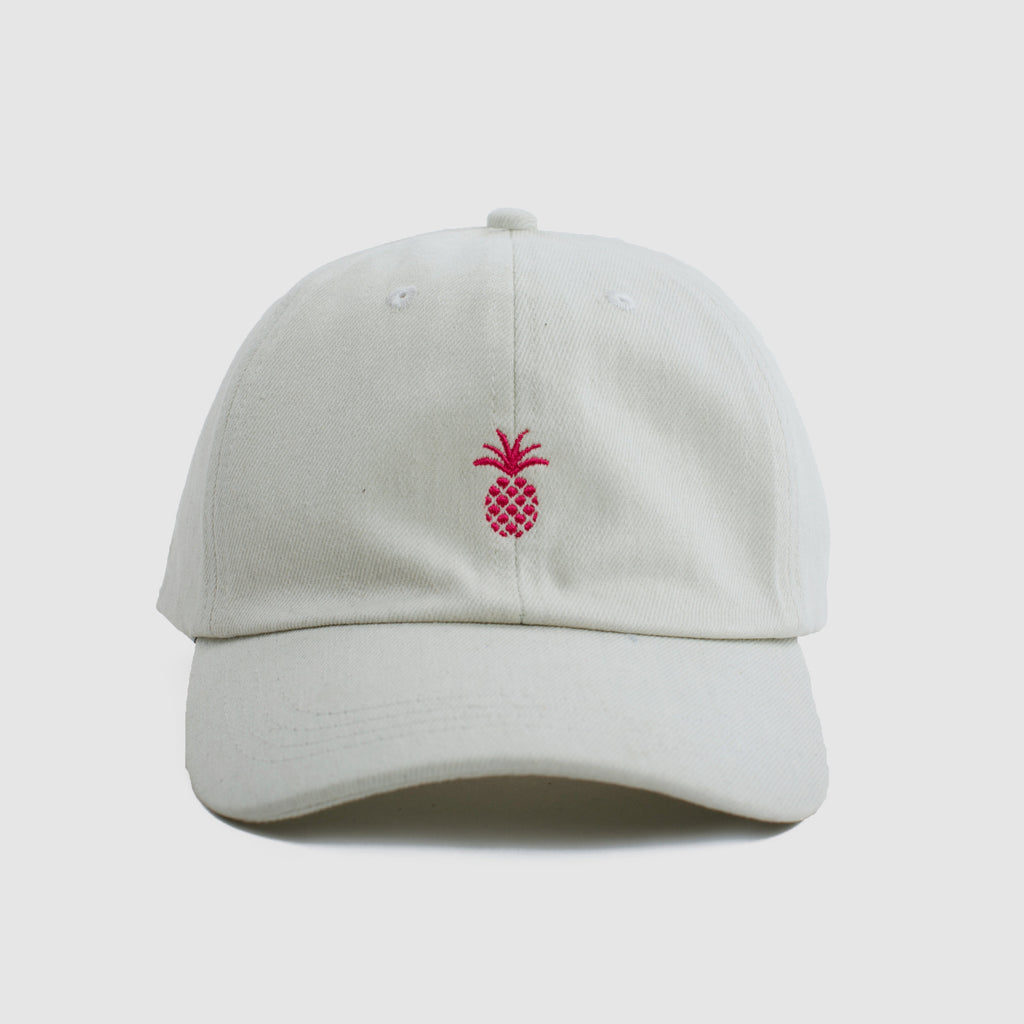 Pineapple Denim Cap