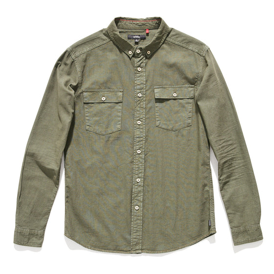 Military LS Woven Shirt