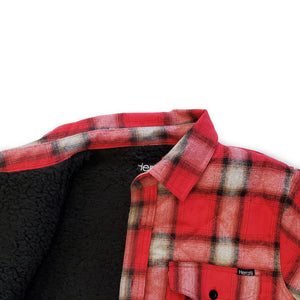 Warren Quilted Sherpa Flannel