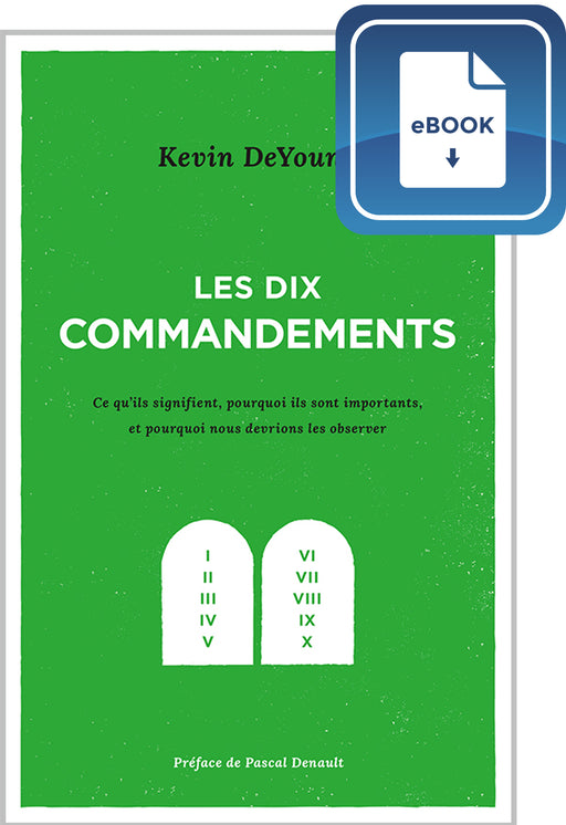 Les dix commandements (eBook)