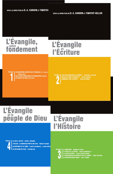 4 volumes de la Gospel Coalition