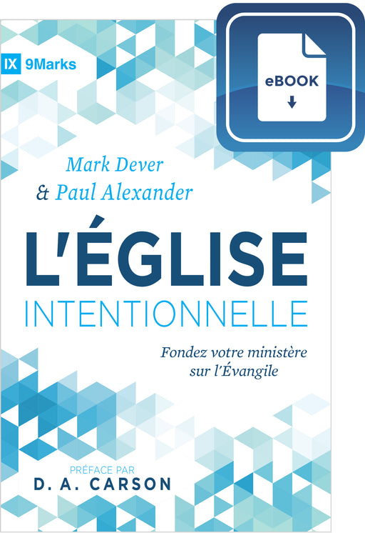 L'Église intentionnelle (eBook)