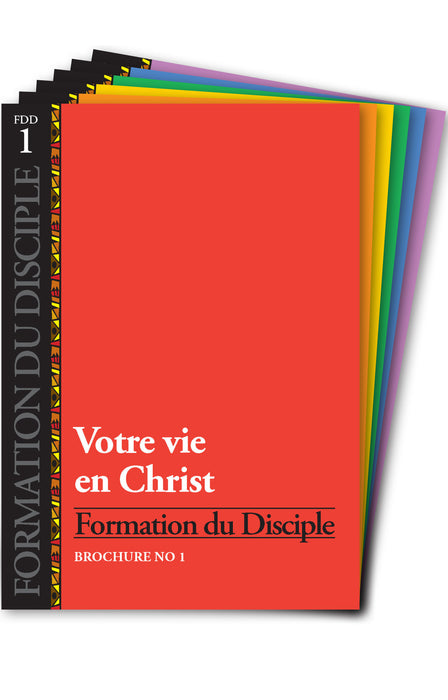 Formation du Disciple (Pack de 6)