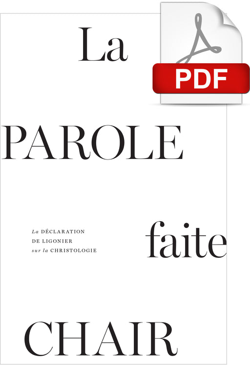 La Parole faite chair (PDF)