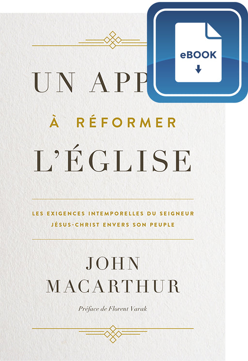 Un appel à réformer l'Église (eBook)