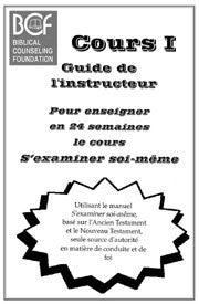 S'examiner soi-même - Cours I (Guide)