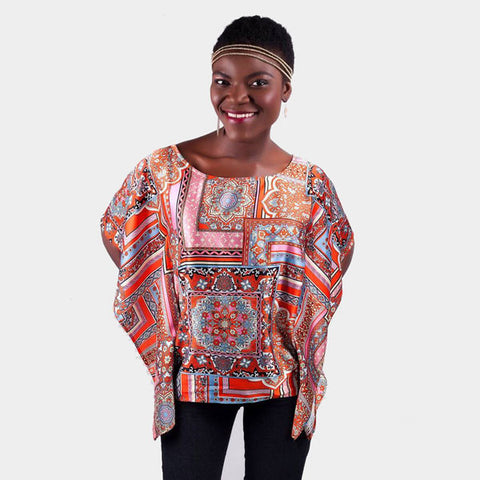 Savannah Blouse - Print