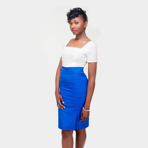 Aisha Skirt - Royal Blue