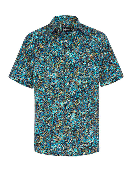 The Velveteen Merman Cotton & Silk S/S Shirt