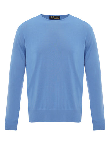 Golden Fibre Regatta Blue Crew Neck