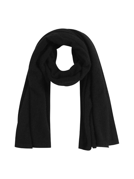Brushtail Scarf Jet Black