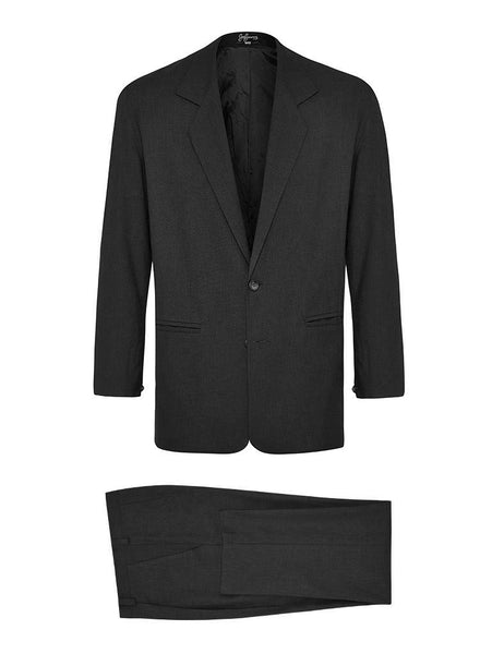 Black Linen & Silk Suit