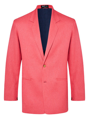 Watermelon Linen & Silk Jacket