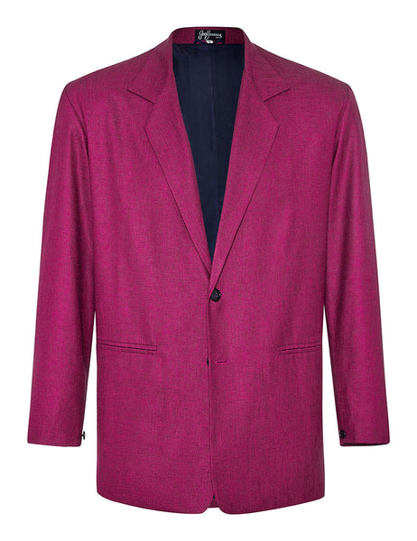 Bougainvillea Linen & Silk Jacket