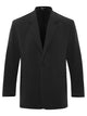Charcoal Silk Crepe Jacket