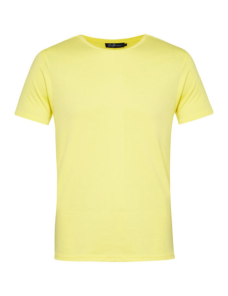 Butter Yellow Crew Neck T-shirt
