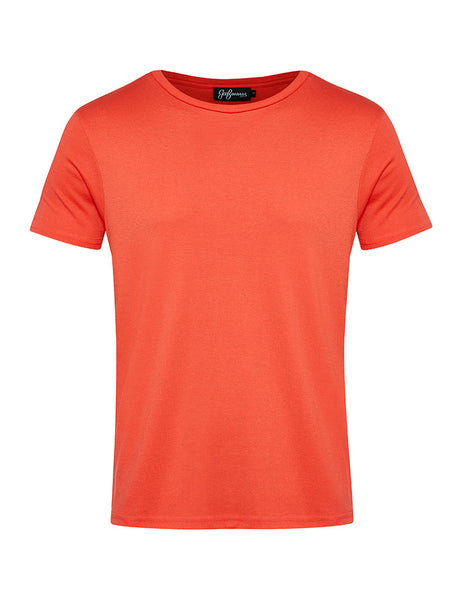 Coral Crew Neck T-shirt
