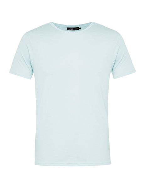 Sky Blue Crew Neck T-shirt