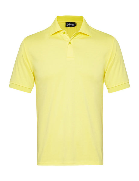 Butter Yellow Polo Shirt