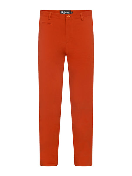 Burnt Orange Chinos