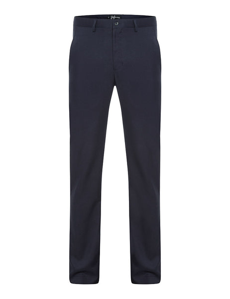 Navy Slim Fit Trousers