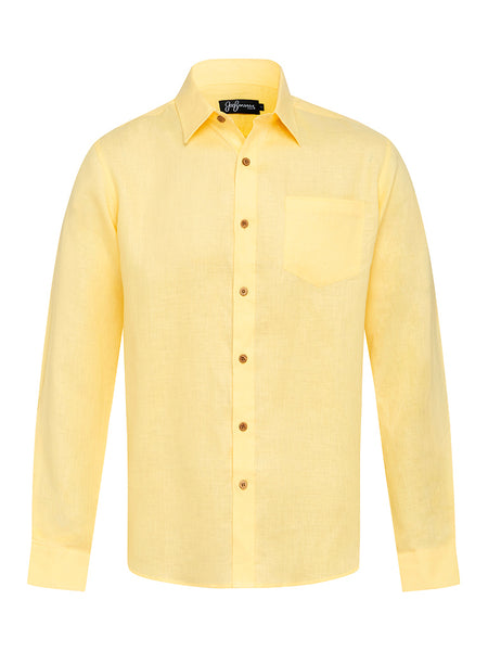 Lemon Linen L/S Shirt