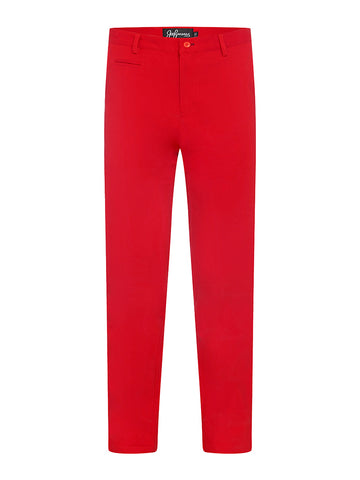 Lobster Red Chinos