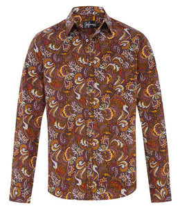 Prohibition Paisley Cotton L/S Shirt