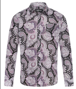 Sasanian Paisley Cotton L/S Shirt