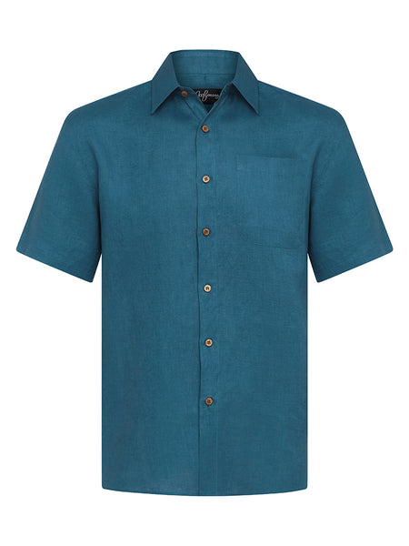 Shaded Spruce Linen S/S Shirt