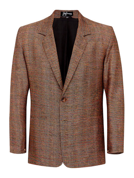Flame Opal Herringbone  Jacket