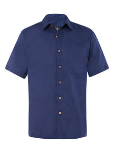 Blueberry Linen S/S Shirt