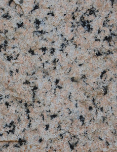 Pink granite, close-up