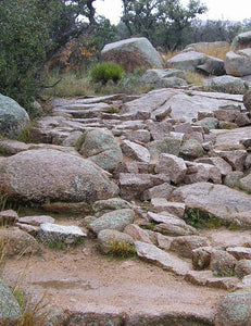 Pink granite rocks [Image credit: Another believer, Wikimedia]