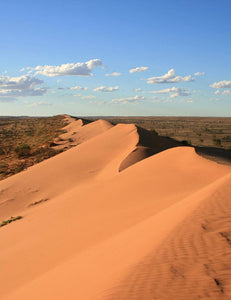 Simpson Desert dunes [Image credit: Australia Daily Photo]