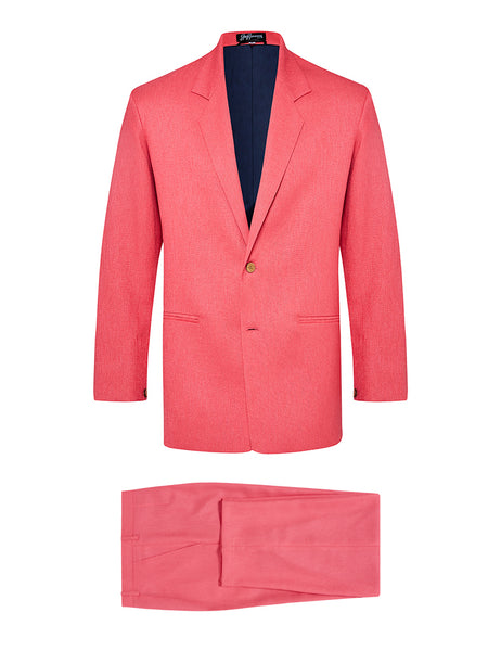 Watermelon Non Crush Linen Suit
