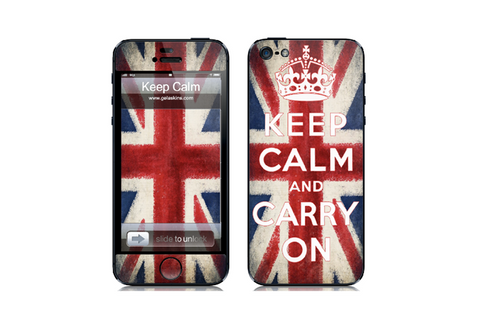 Traditional Union Jack - iPhone Art Skin Kit