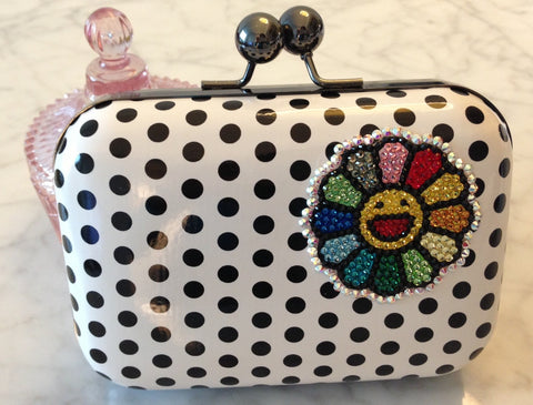 Swarovski Crystallized Stylish Clutch Purse