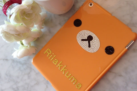 Rilakkuma Swarovski Crystals iPad Mini Case