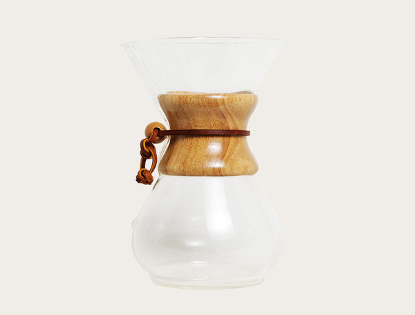Chemex 6 cup wood handle brewer