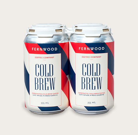 Carbonated Cold Brew 4 Pack