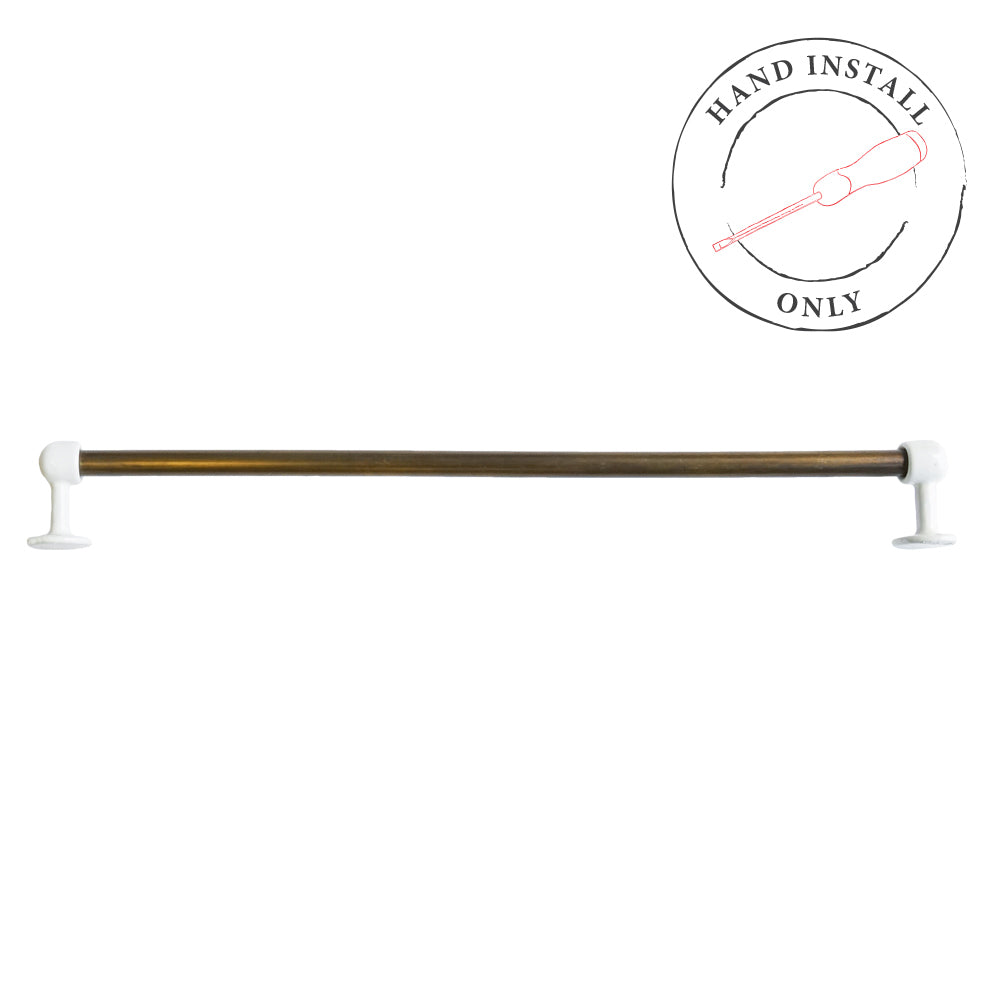 Howard Towel Rail Aged Brass