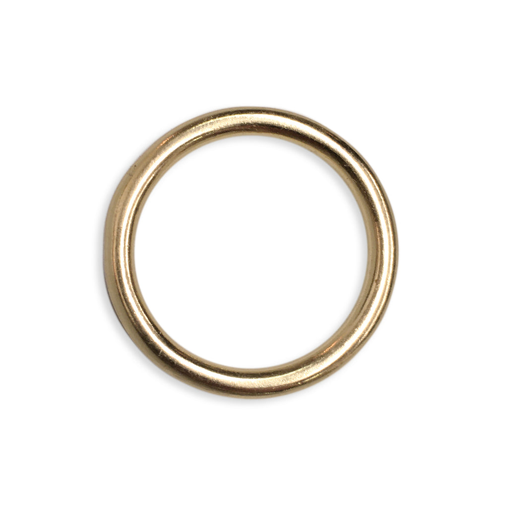 Curtain Ring Solid Brass 12pk