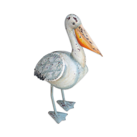 Painted Iron Pelican