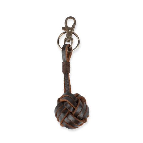 Couta Leather Knot Keyring