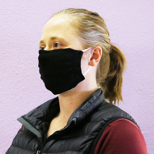 Washable Knit Face Mask with Filter, Sold in packs of 5