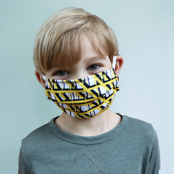 Washable Pedestrian Mask with CUSTOM Dye Sublimation
