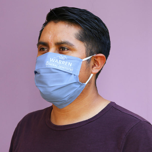 Washable Pedestrian Masks with CUSTOM Screen Print