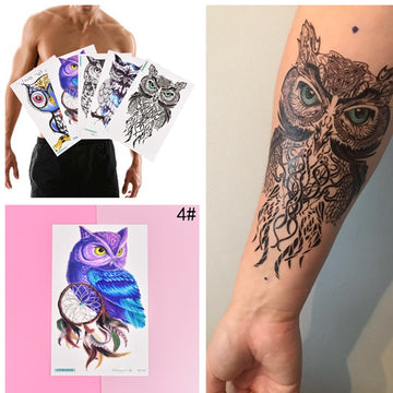 bbed40190 50 of the Most Beautiful Owl Tattoo Designs – hootary